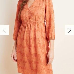 Daniel Rainn Lia Textured Mini Dress Anthro NWT